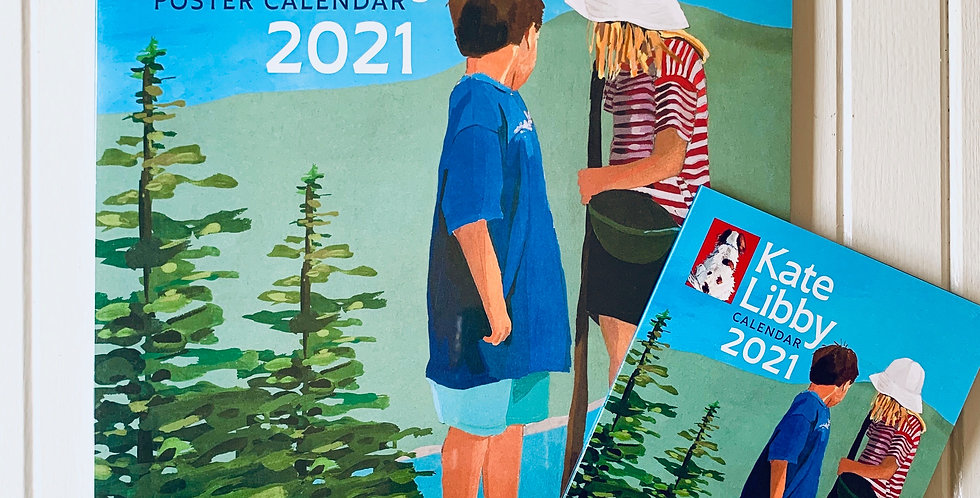 "Kate Libby 2021 Poster Calendar (11"" x 14"")"