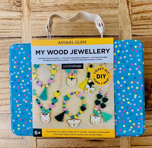 Wood Jewelry Kit
