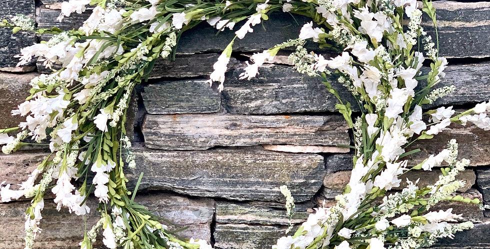 White Hops Wreath