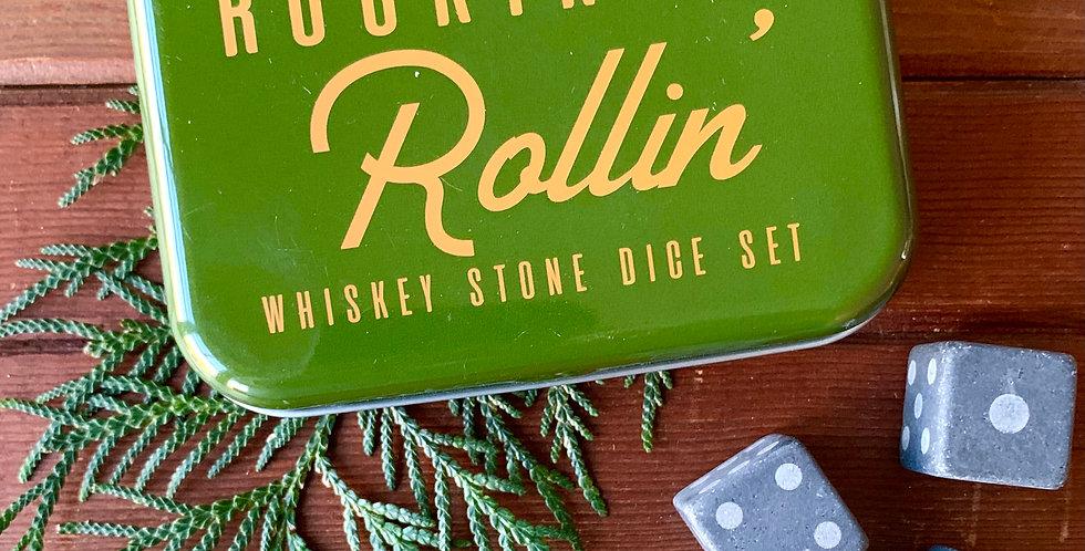 Whiskey Stone Dice Set