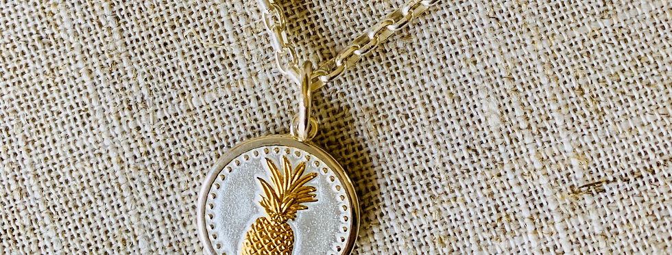 LOLA Pineapple Pendant - Small (Chain Sold Separately)