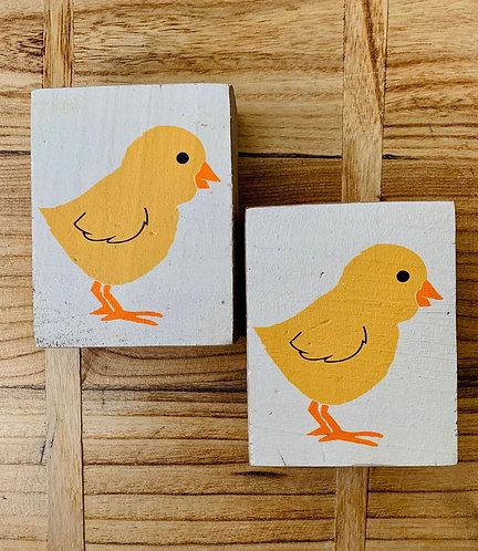 Chick Wood Block