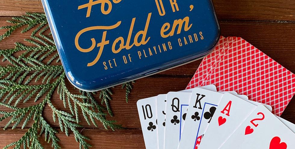 Hold 'em or Fold 'em Card Set