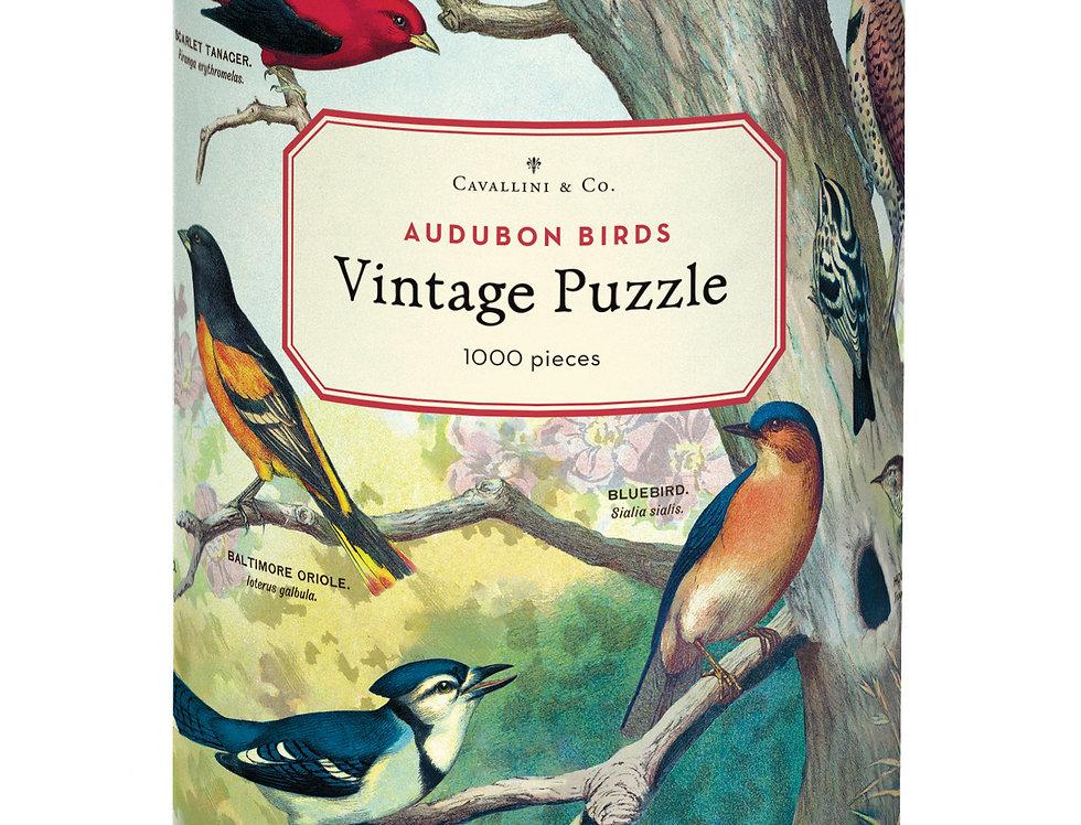 Audubon Birds Cavallini Puzzle
