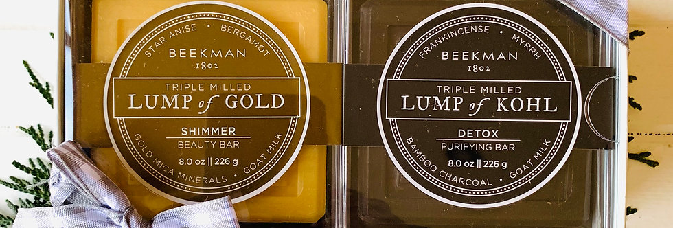 Beekman Lump of Kohl/Gold Gift Set