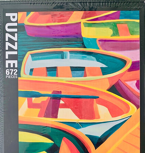 Colors of Boats Puzzle