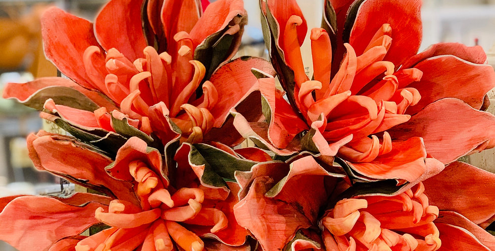 Faux Tropical Orange Blossom (Sold Individually)