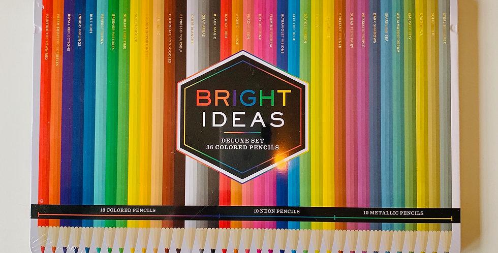 Bright Ideas Deluxe Colored Pencil Set