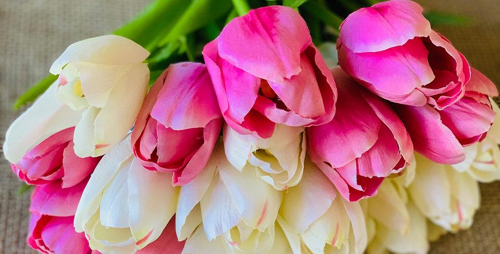 Faux Tulips (Bunch of Six)