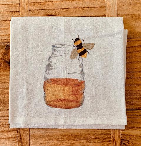 Honey Jar Tea Towel