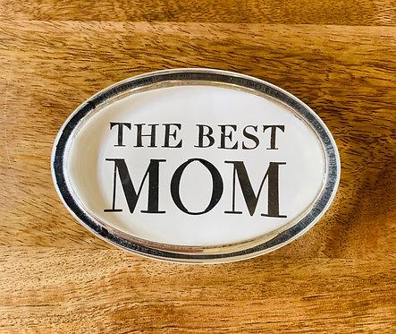 Best Mom Paperweight