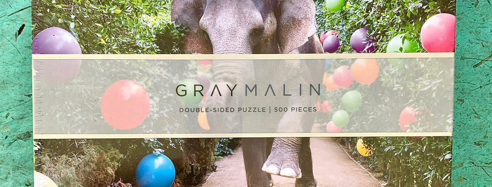 Double-sided Gray Malin 500 Piece Puzzle