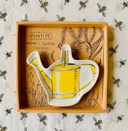 Vintage Watering Can Trinket Tray