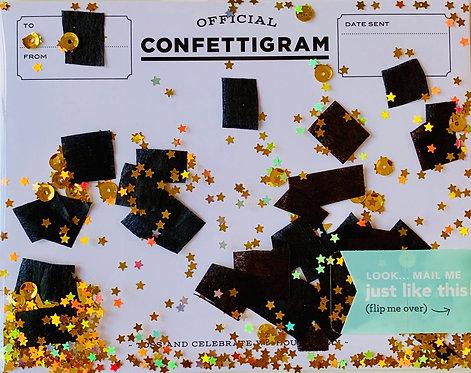Happy Graduation Confettigram