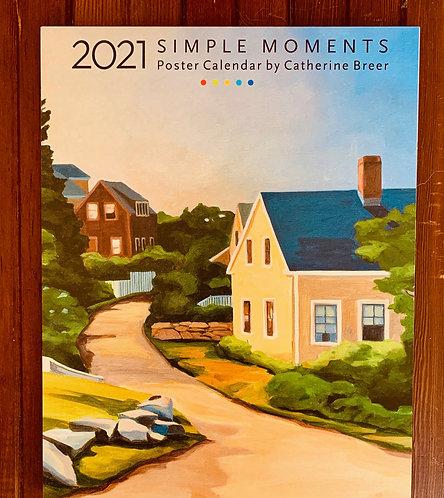 2021 Simple Moments Calendar (Catherine Breer)