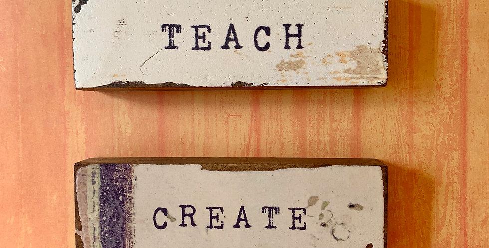 Teach/Create Timber Bits