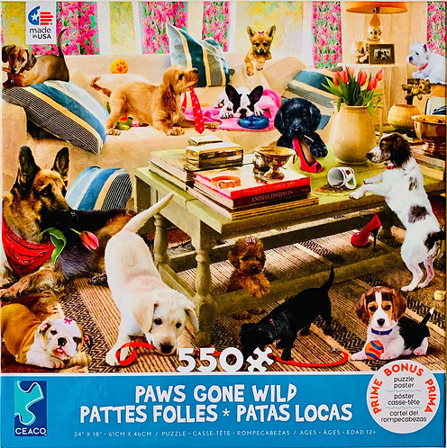 Paws Gone Wild Puzzle