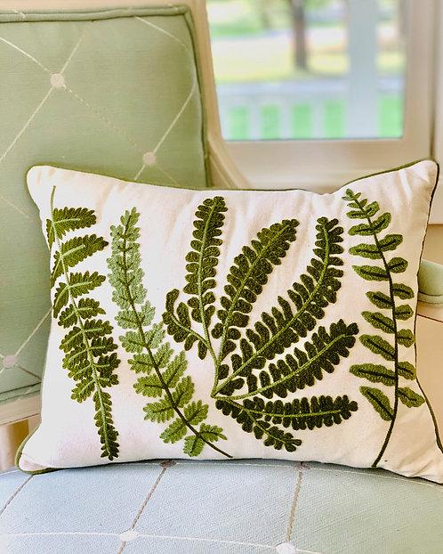 Fern Pillow