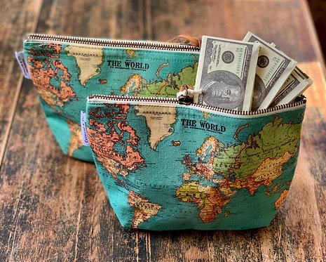 """The World"" Pouch"