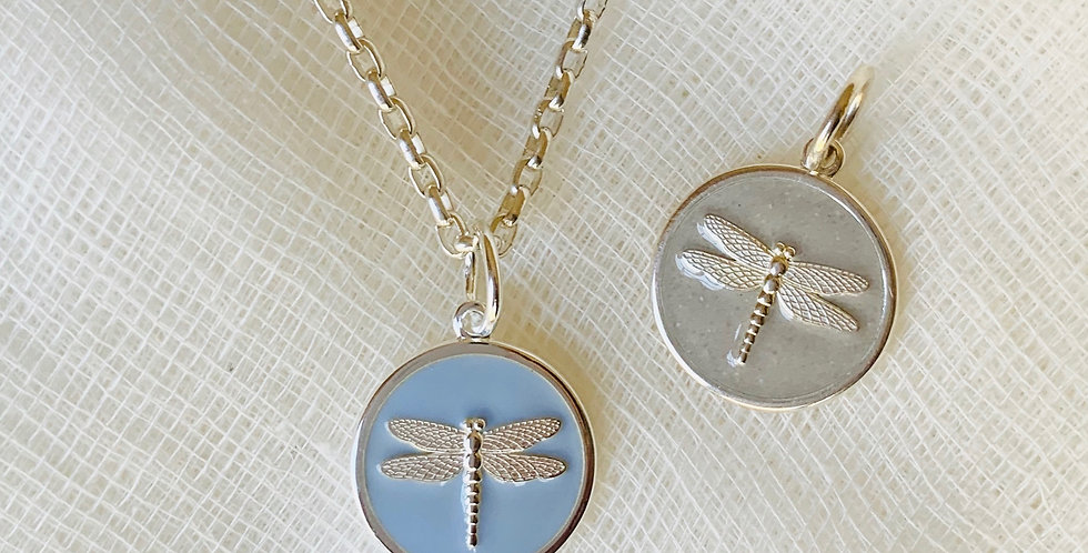 LOLA Dragonfly Pendant (Small)