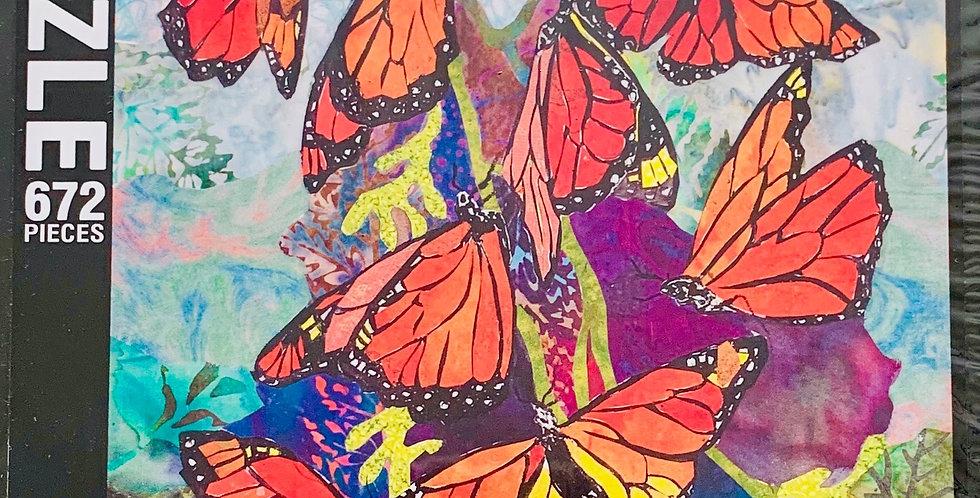 Colors of Monarchs Puzzle