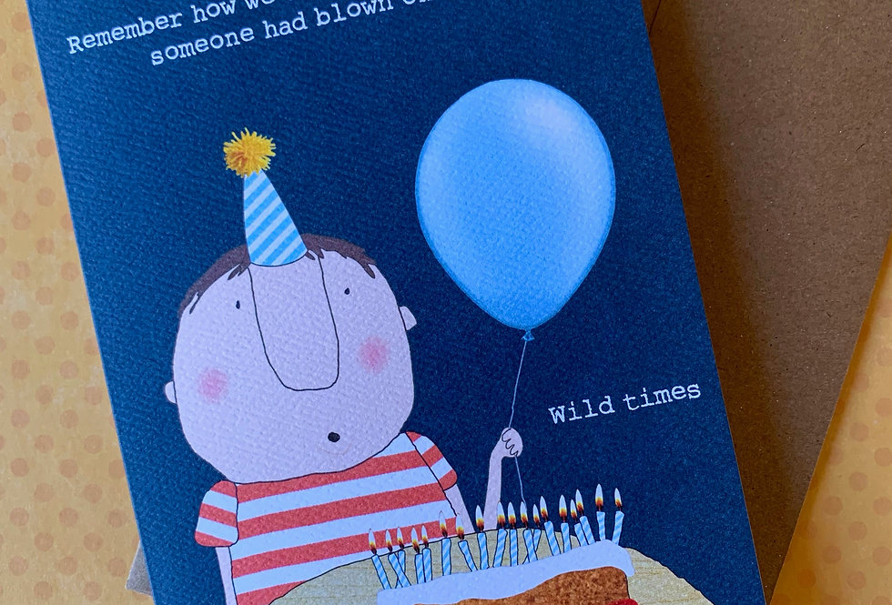 """Eat Cake"" Birthday Card"