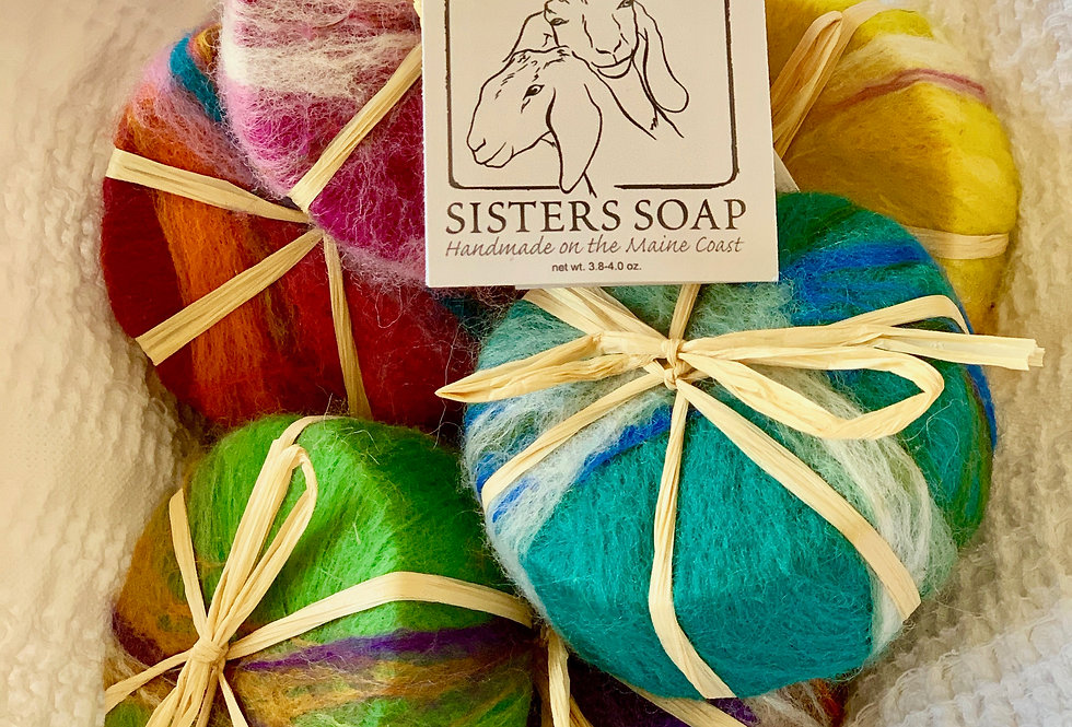 Sister's Soap - Round