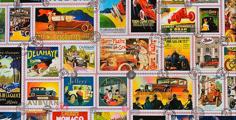 Car Stamps Puzzle