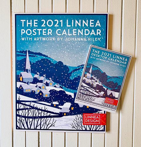 """2021 Linnea Poster Calendar (11""""x14"""")"""
