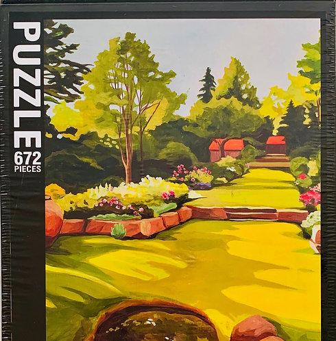 Colors of Garden Puzzle