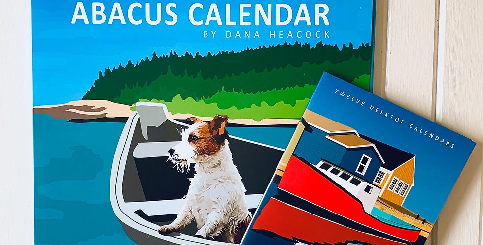 2021 Abacus Calendar - Poster Size