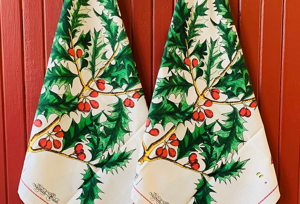 Cavallini Vintage Xmas Napkins (Set of 4)