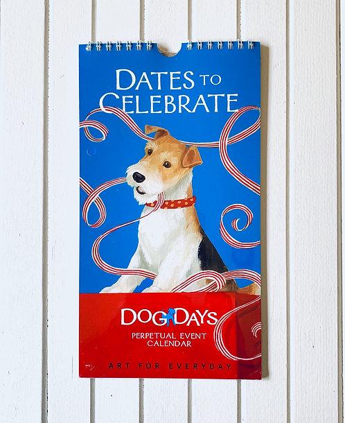 Dates to Celebrate Dog Days Calendar