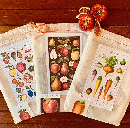 Cavallini Fall Tea Towels