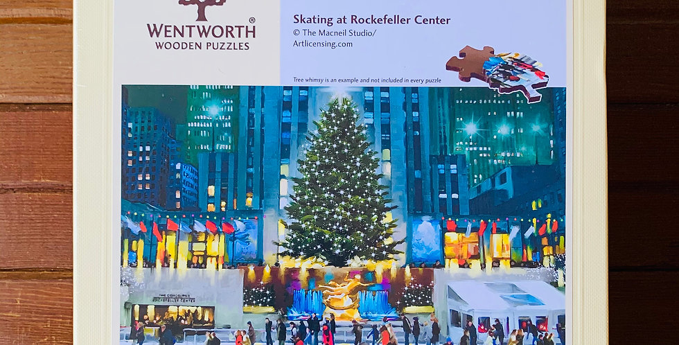 Skating at Rockefeller Center by Wentworth