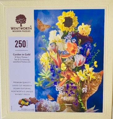 Garden In Gold Wentworth Puzzle