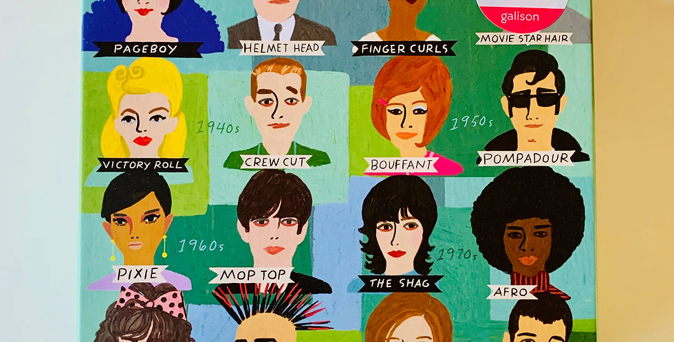 History of Hairdos Puzzle