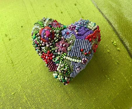 Blooming Heart Pin
