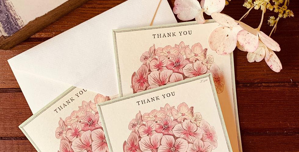 "Hydrangea ""Thank You"" Notes (Boxed Set)"