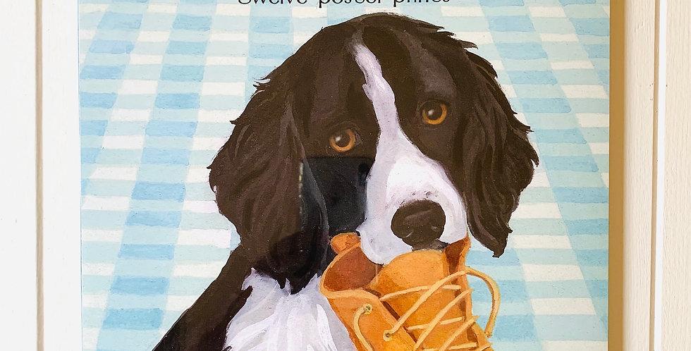 Dog Days Poster Calendar (11x14)