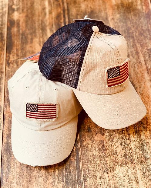 Flag Baseball Caps