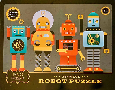 Robot Puzzle from FAO Schwarz