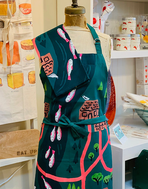 Summer Fish Apron