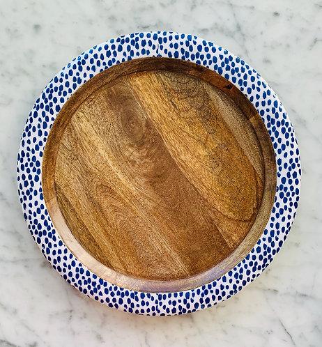 Indigo Blue Tray - Large