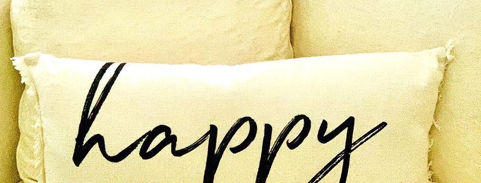 """""""Happy"""" Pillow"""
