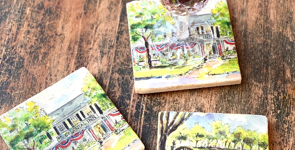 Concord Marble Coasters