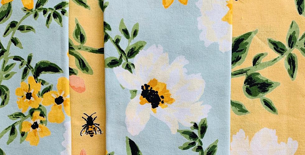 Spring Floral Napkins (Set of 4)