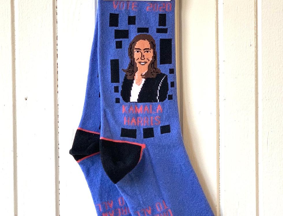 Kamala Harris Socks by Maggie Stern