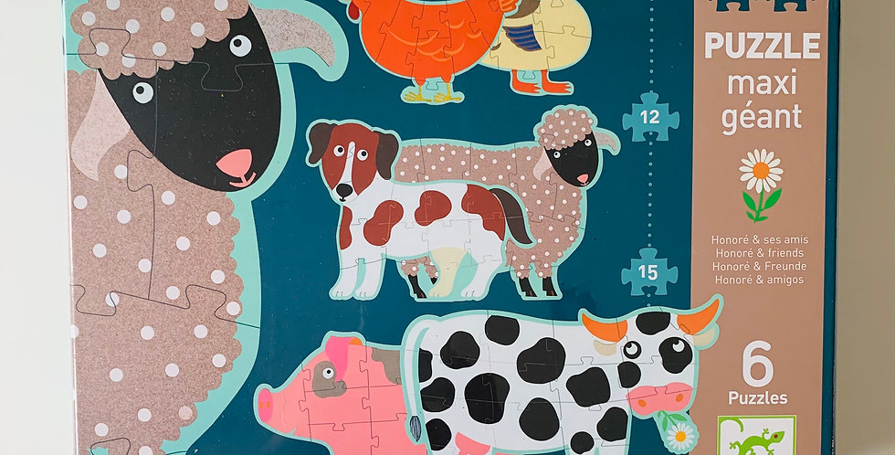Honore & Friends Giant Puzzles