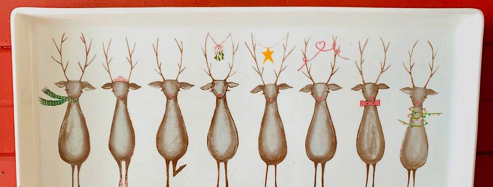 Santa's Reindeer Platter